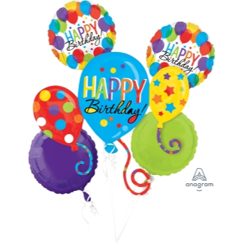Image de BALLOON BASH FOIL BOUQUET