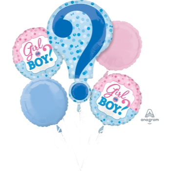 Image de GENDER REVEAL - FOIL BOUQUET
