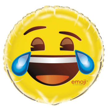 "Picture of 18"" FOIL - EMOJI CRYING/LAUGHING"