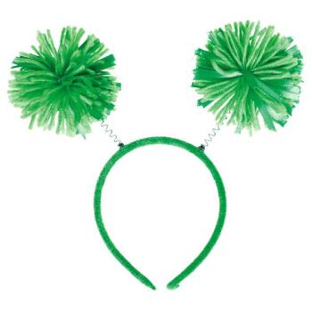 Picture of GREEN POM POM HEADBOPPER
