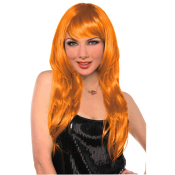 Picture of ORANGE GLAMOUROUS WIG