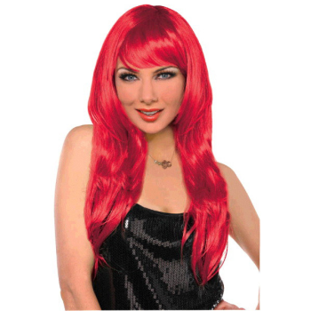 Image de RED GLAMOUROUS WIG