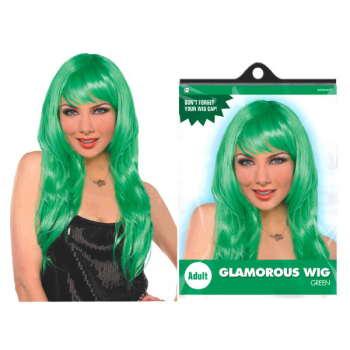 Image de GREEN GLAMOUROUS WIG