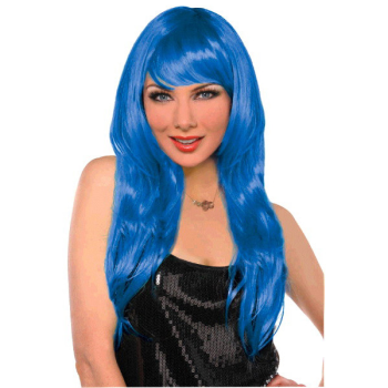 Picture of BLUE GLAMOUROUS WIG