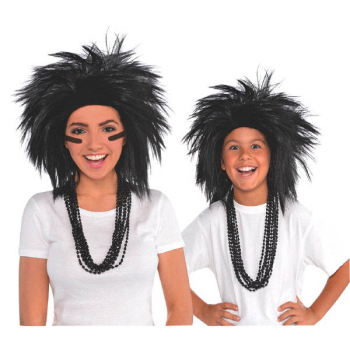Picture of BLACK CRAZY WIG