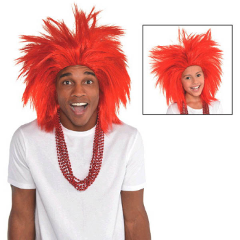 Picture of RED CRAZY WIG