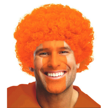Picture of ORANGE CURLY WIG