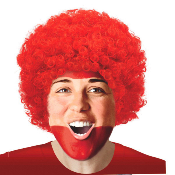 Image de RED CURLY WIG
