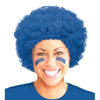 Picture of BLUE CURLY WIG