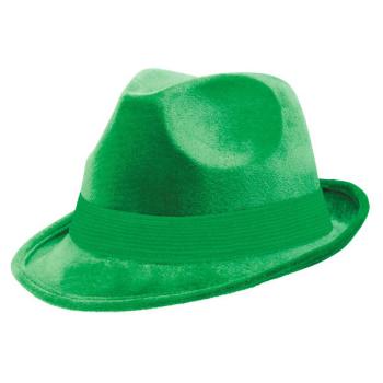 Picture of GREEN FELT FEDORA HAT