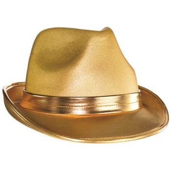 Picture of GOLD FELT FEDORA HAT