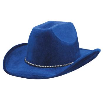 Picture of BLUE FELT COWBOY HAT