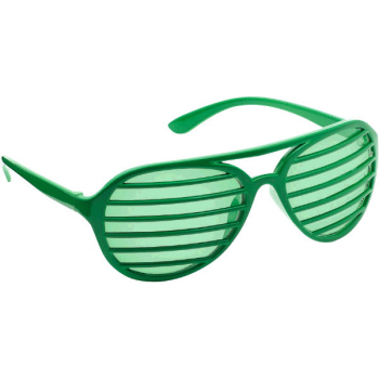 Picture of GREEN SLOT GLASSES