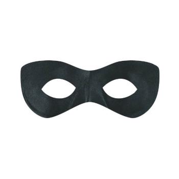 Picture of BLACK SUPER HERO MASK