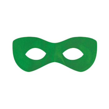 Picture of GREEN SUPER HERO MASK