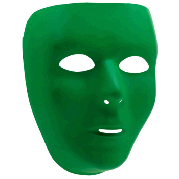 Picture of GREEN  FULL FACE MASK