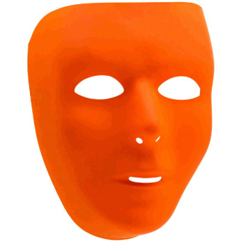Picture of ORANGE  FULL FACE MASK