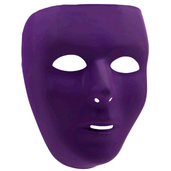 Picture of PURPLE FULL FACE MASK