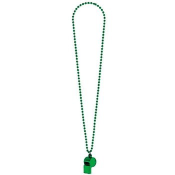 Image de GREEN WHISTLE ON BEAD NECKLACE
