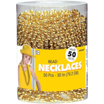 Picture of GOLD BEAD NECKLACES  50CT