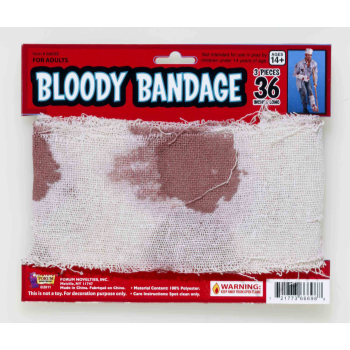 "Picture of 15' x 4"" BLOODY GAUZE"