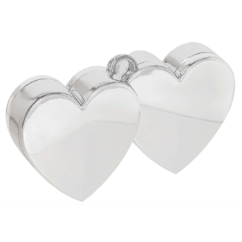 Image de DOUBLE HEART BALLOON WEIGHT - RED
