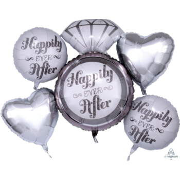 Image de HAPPILY EVER AFTER FOIL BOUQUET