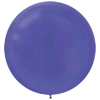 "Picture of 24"" LATEX BALLOONS - PURPLE 4CT"