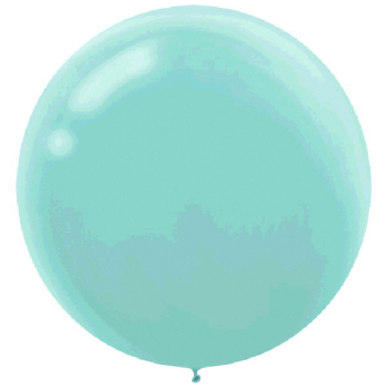 "Picture of 24"" LATEX BALLOONS - ROBIN'S EGG BLUE 4CT"