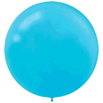 "Picture of 24"" LATEX BALLOONS - CARRIBEAN 4CT"