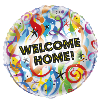 "Picture of 18"" FOIL - BRIGHT WELCOME HOME"