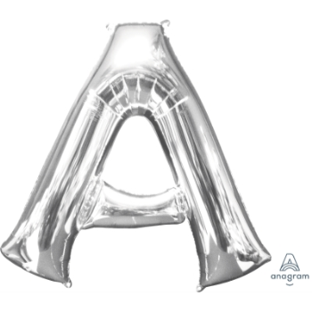 Picture of 34'' LETTER A SUPER SHAPE - SILVER