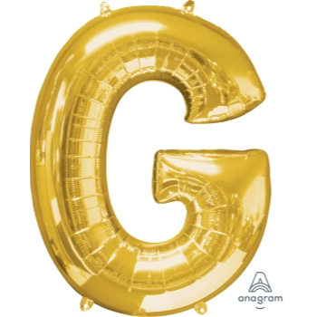 Picture of 34'' LETTER G SUPER SHAPE - GOLD
