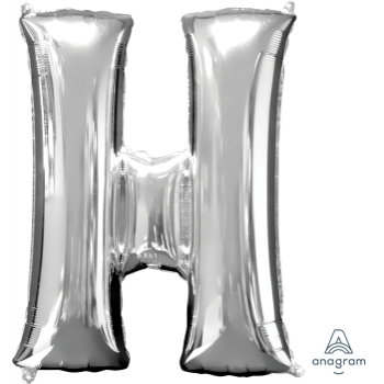 Picture of 34'' LETTER H SUPER SHAPE - SILVER