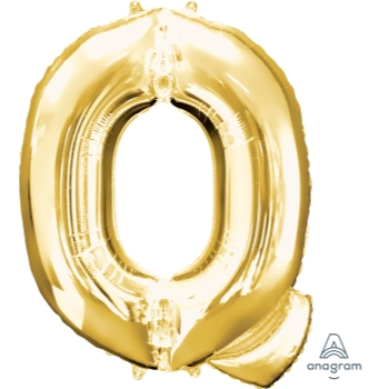 Picture of 34'' LETTER Q SUPER SHAPE - GOLD