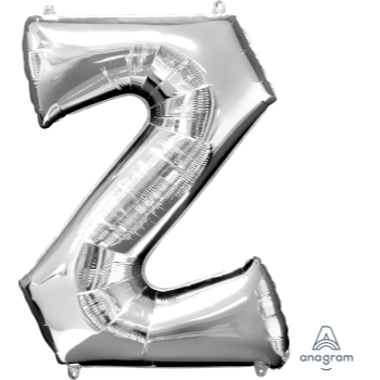 Picture of 34'' LETTER Z SUPER SHAPE - SILVER