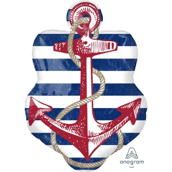 Picture of ANCHORS AWEIGH FOIL SUPERSHAPE
