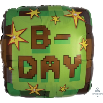 "Picture of 18"" FOIL - MINECRAFT BDAY"