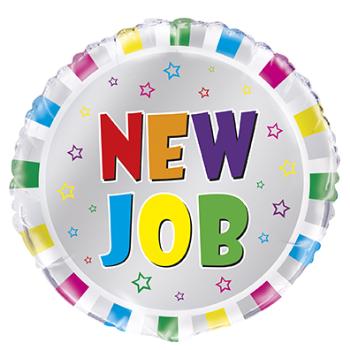 """Image de 18"""" FOIL - NEW JOB CONGRATS"""