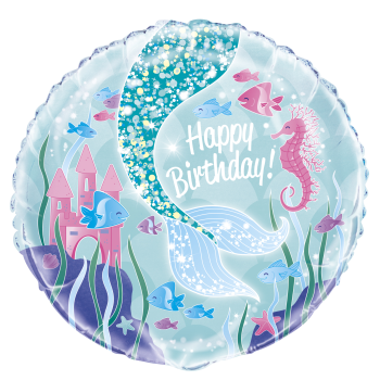 "Picture of 18"" FOIL - MERMAID BIRTHDAY"