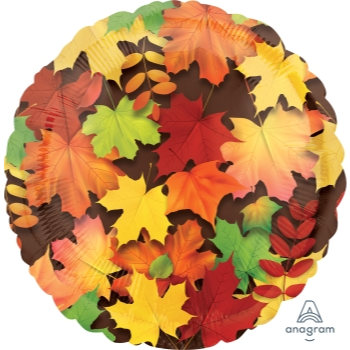 "Picture of 18"" FOIL BALLOON - COLORFUL LEAVES"