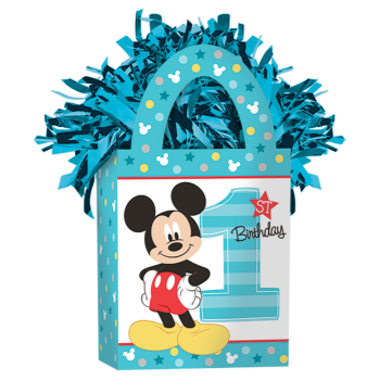 Image de MICKEY MOUSE 1ST BIRTHDAY BALLOON WEIGHT