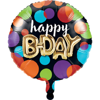 "Image de 18"" FOIL - BALLOON BIRTHDAY"