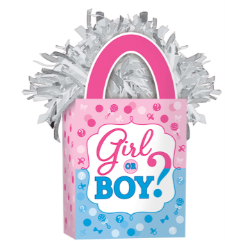 Image de GENDER REVEAL - GIRL OR BOY BALLOON WEIGHT