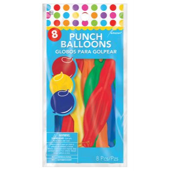 Picture of PUNCH BALLOONS 8/PKG