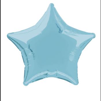 """Image de 20"""" FOIL - BABY BLUE STAR"""