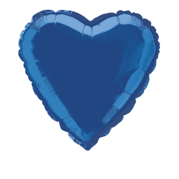 "Image de 18"" FOIL - ROYAL BLUE HEART"