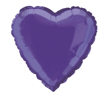 "Image de 18"" FOIL - PURPLE HEART"