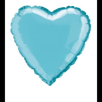 """Image de 18"""" FOIL - BABY BLUE HEART"""