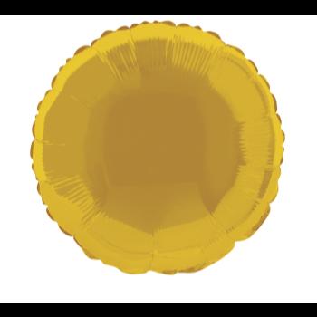 """Image de 18"""" FOIL - GOLD ROUND"""